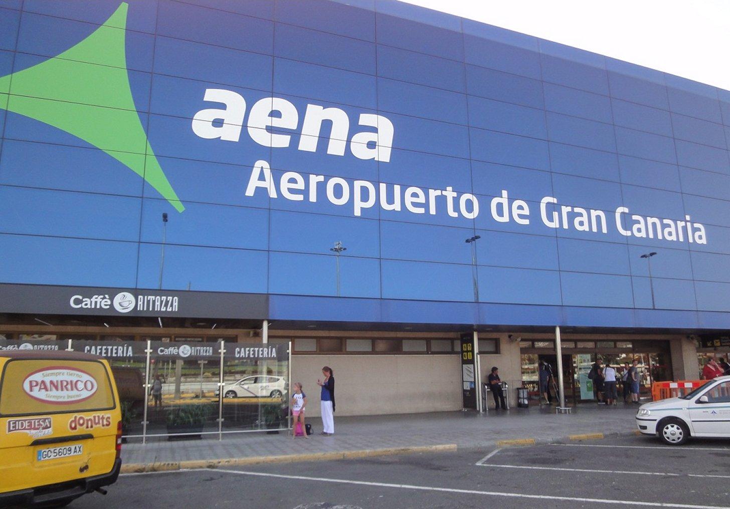 De luchthaven